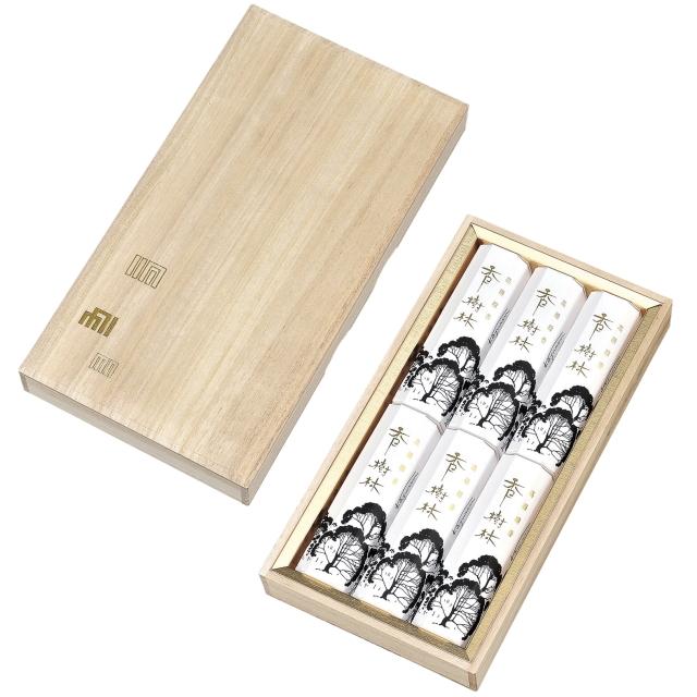 香樹林 短寸6箱入 桐箱 (玉初堂)